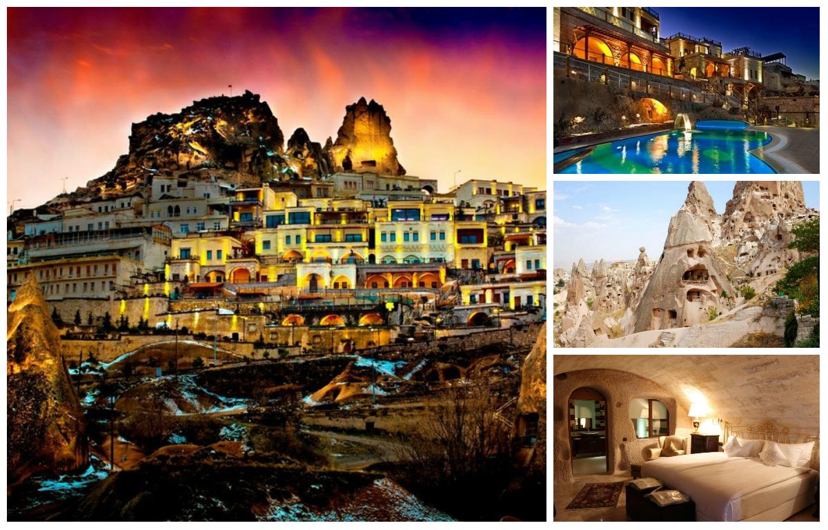 Турецкий отель для влюбленных Cappadocia Cave Resort & Spa
