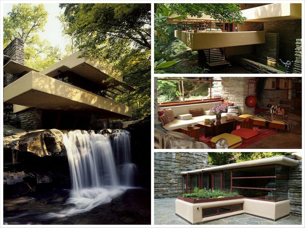 Дом над водопадом - проект Фрэнка Райда
