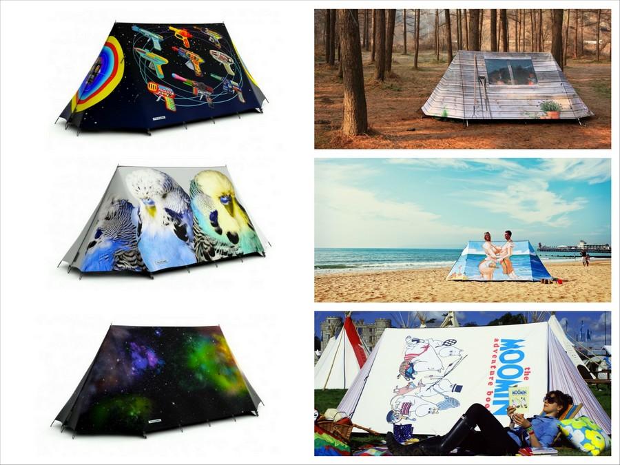 Креативные кемпинговые палатки FieldCandy