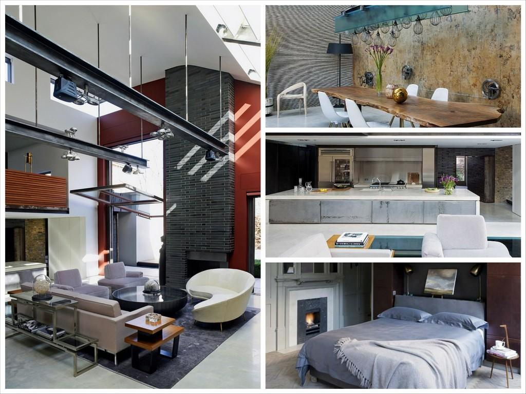Лондонские лофт апартаменты от дизайнера Салли Маккерет
