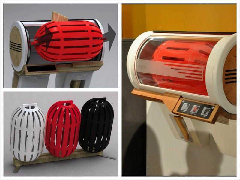 Маленькая стиральная машина Eco-Pod