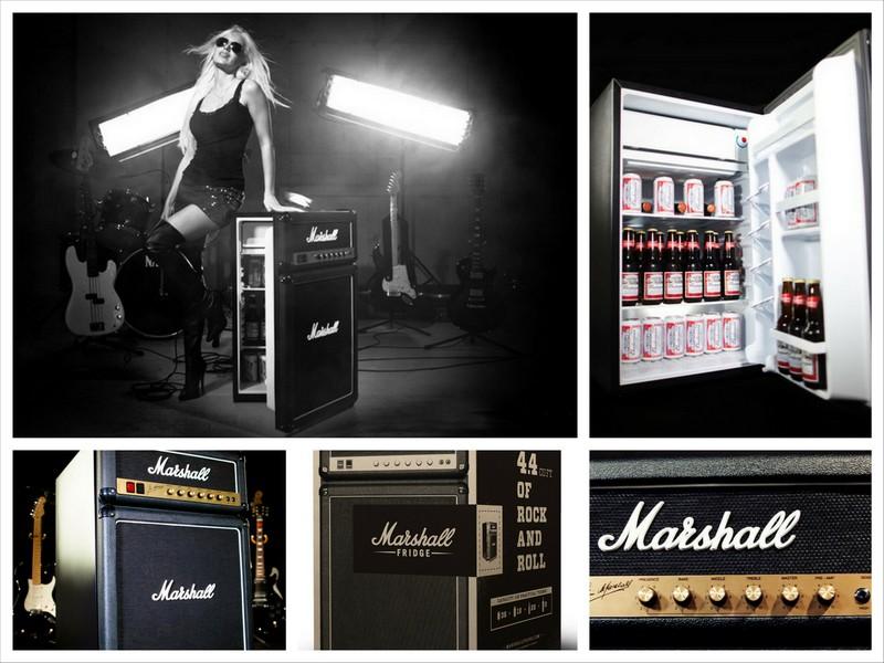 Маленький холодильник Marshall для настоящих музыкантов
