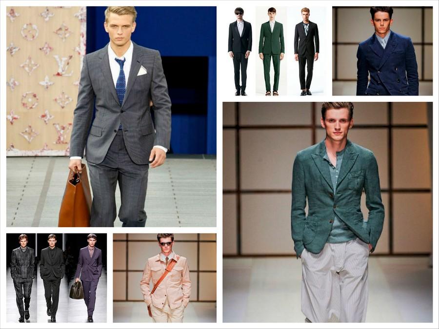 Модные мужские костюмы 2013 года