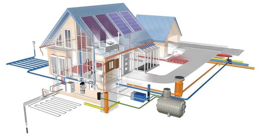 Прокладка трубопроводов в частных домах 4