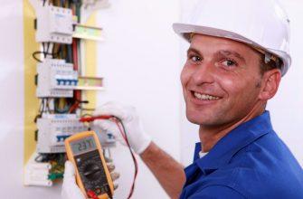 Выполнение электромонтажных работ при строительстве дома