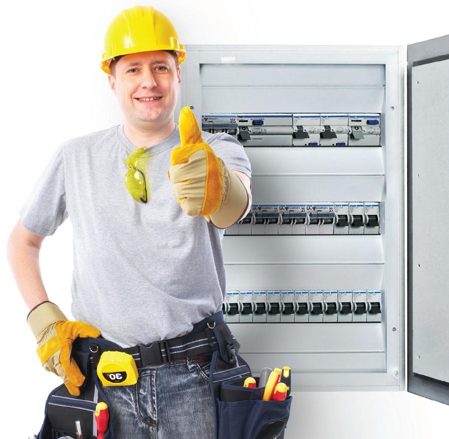Выполнение электромонтажных работ при строительстве дома 2