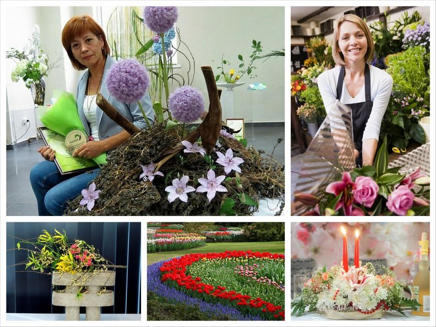 Флорист - интересная профессия для творческих людей