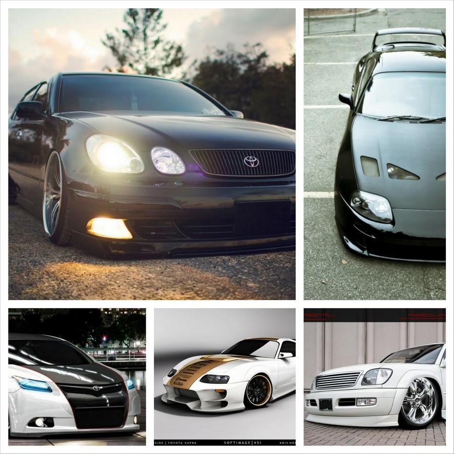 Красивый тюнинг Toyota - подборка фотографий