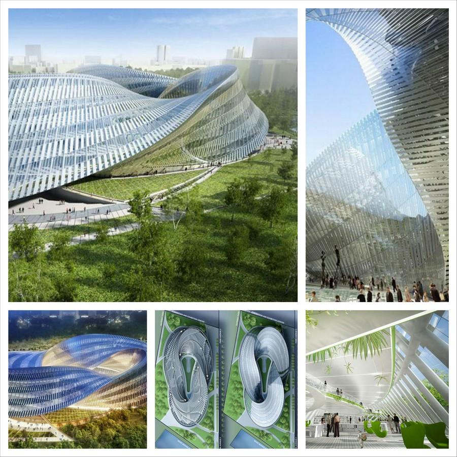 Ласточкино гнездо - архитектурный проект от Vincent Callebaut