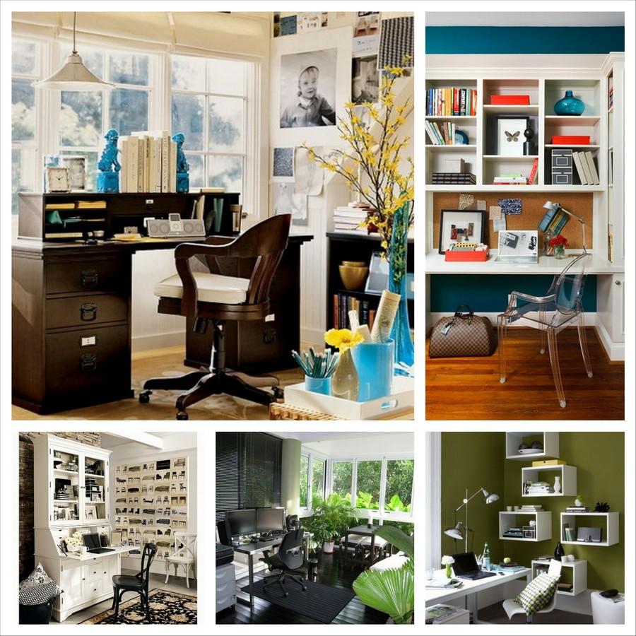 Оформляем интерьер домашнего кабинета - 40 идей