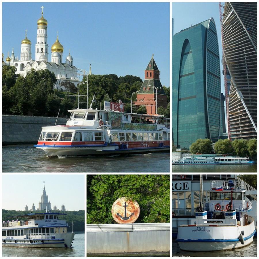 Прогулки по Москве-реке на фото Евгения Чеснокова