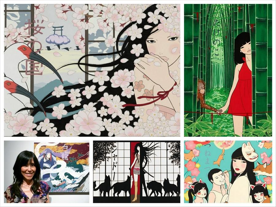 Японский иллюстратор Yumiko Kayukawa