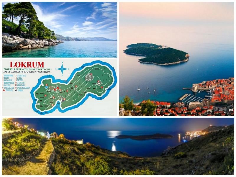 Достопримечательности Хорватии   остров Локрум