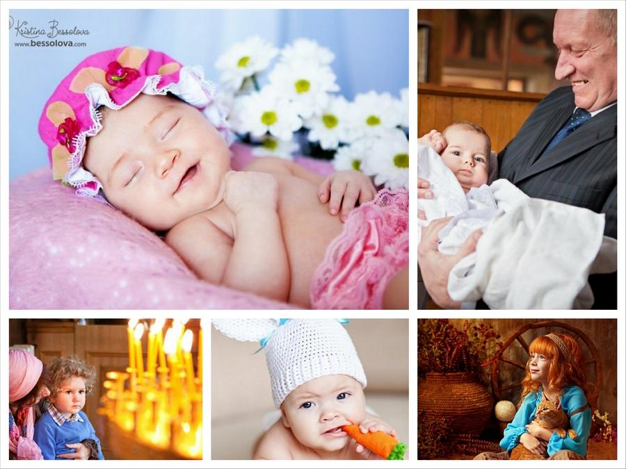 Фотосъемка крестин и семейное фото от Кристины Бессоловой