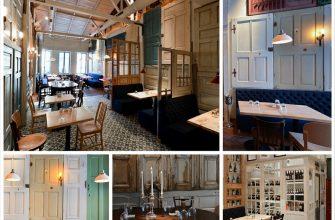 Поразительный интерьер ресторана BON