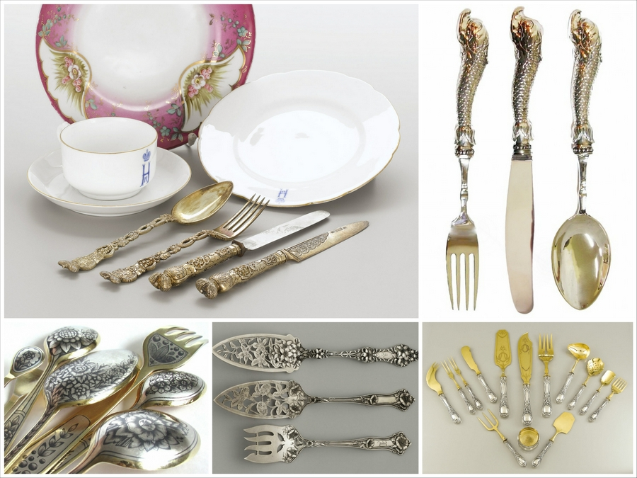 Всё про столовое серебро и его свойства