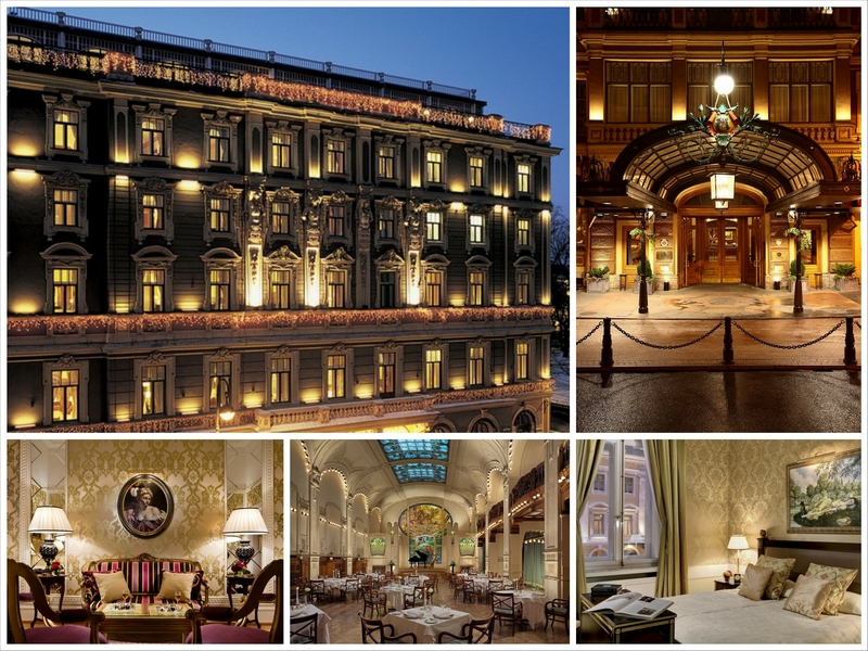 Знаменитый отель Европа в Санкт-Петербурге