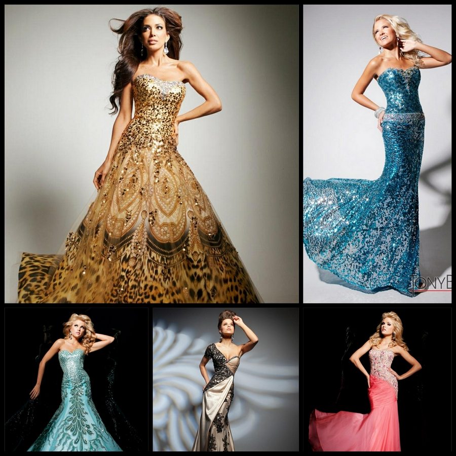 Дизайнерские платья от Tony Bowls (коллекция 2013 года)