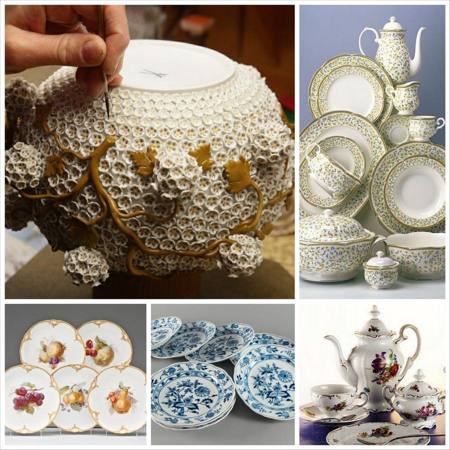 Изделия из фарфора - изысканность в керамике