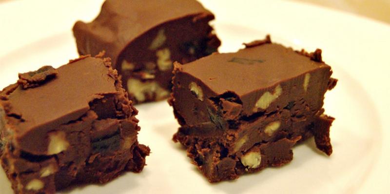 Моментальные шоколадные конфеты
