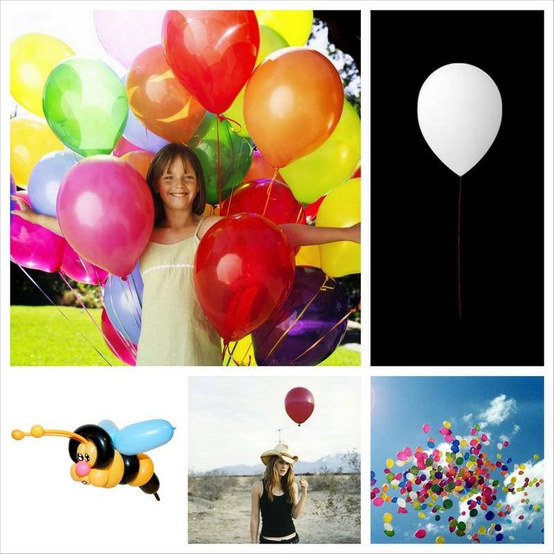 Надувные шарики на день рождения - идеи оформления в интерьере