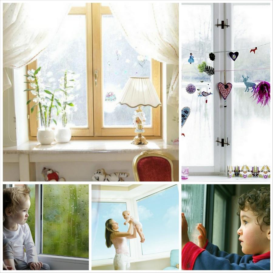 Оптимальные параметры окна для детской комнаты