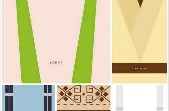 Постеры к фильмам в стиле минимализм от Giulia Villa