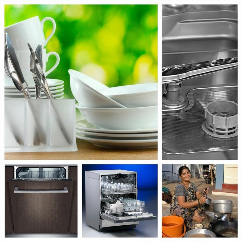 Посудомоечная машина, необходимая помощница на кухне