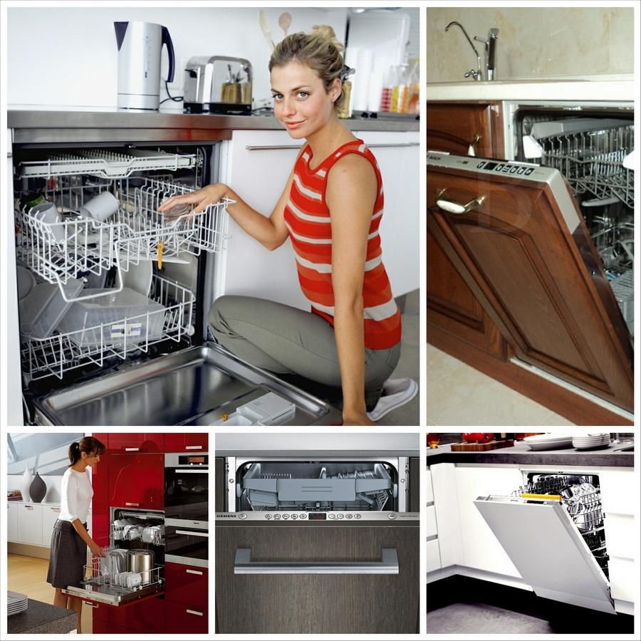 Посудомоечная машина в интерьере кухни - советы по дизайну