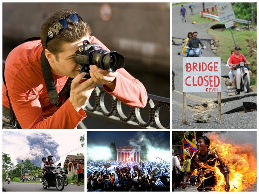 Профессия фотограф — репортажная