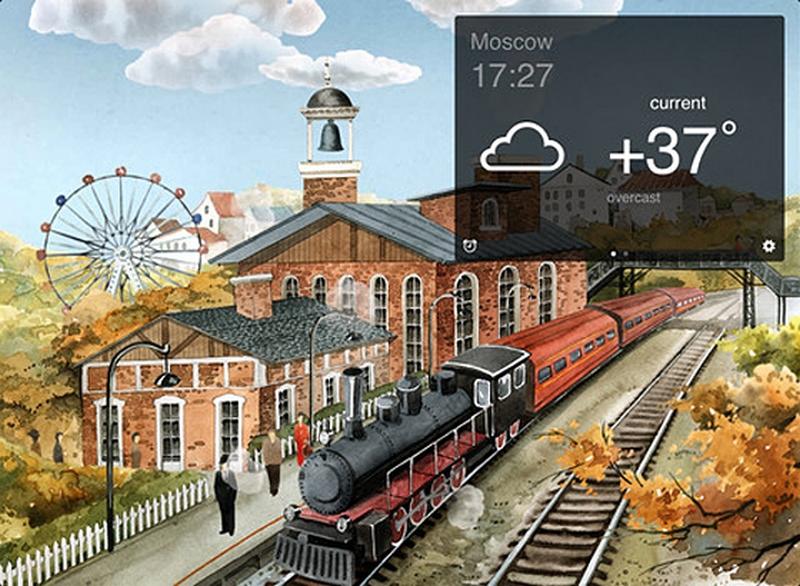 Самые красивые приложение погоды 5