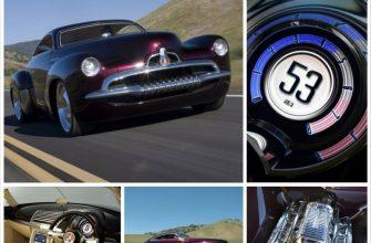 Современные авто в ретро стиле - Holden Efijy