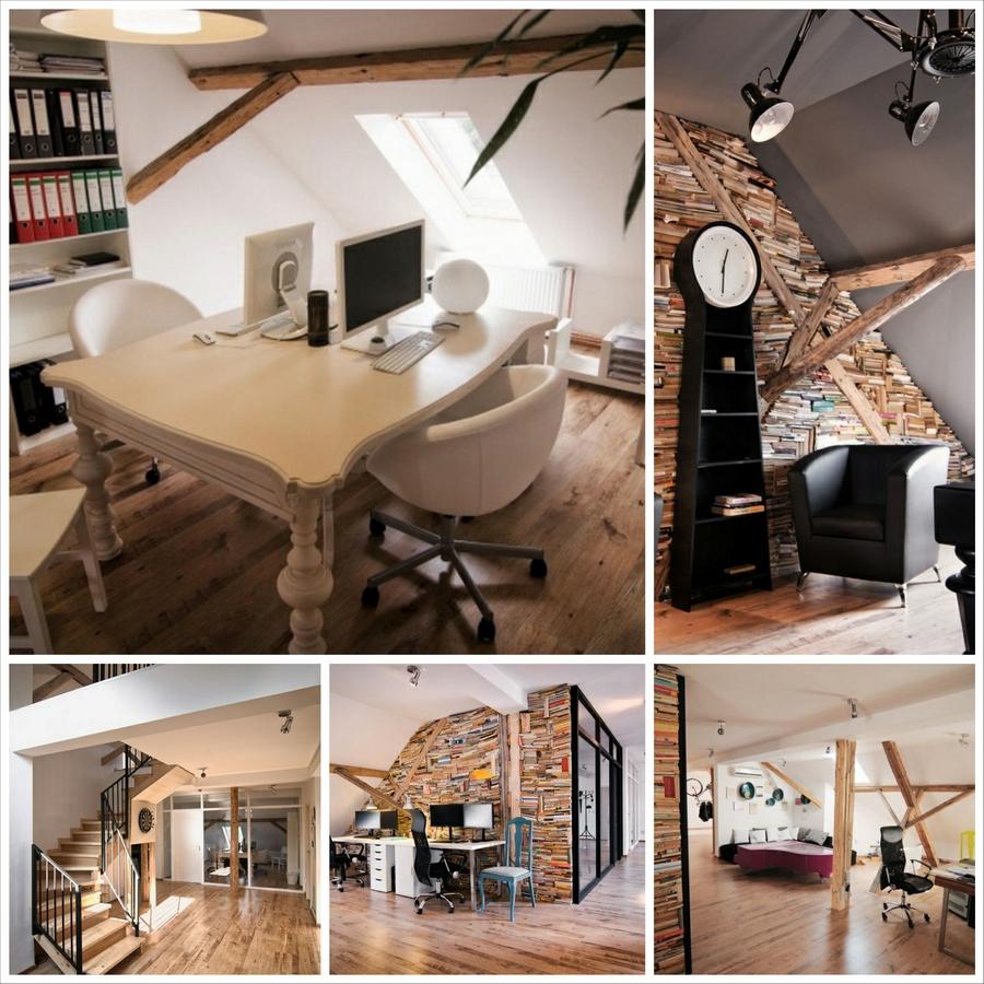 Светлый интерьер офиса студии X3