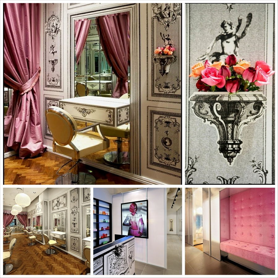 Утонченный дизайн салона красоты Brad Ngata