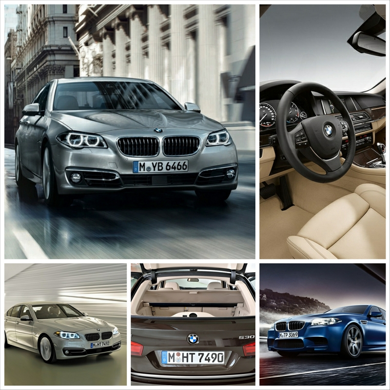 Красивый рестайлинг BMW5 f10