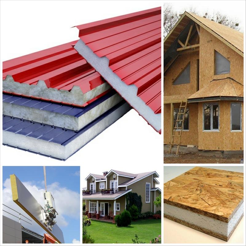Преимущества использования сэндвич-панелей в строительстве и в реконструкции зданий