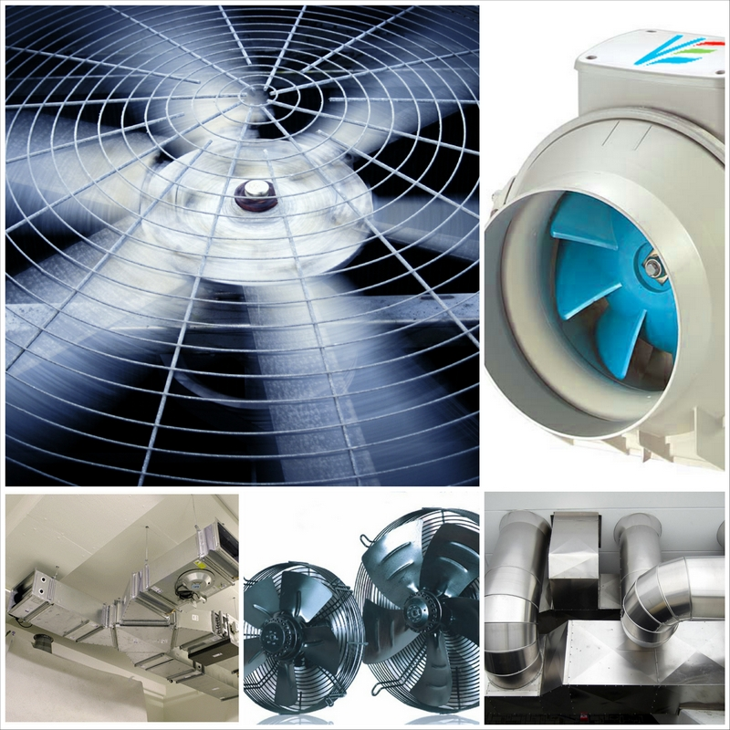 Промышленная вентиляционная система - максимальная надёжность