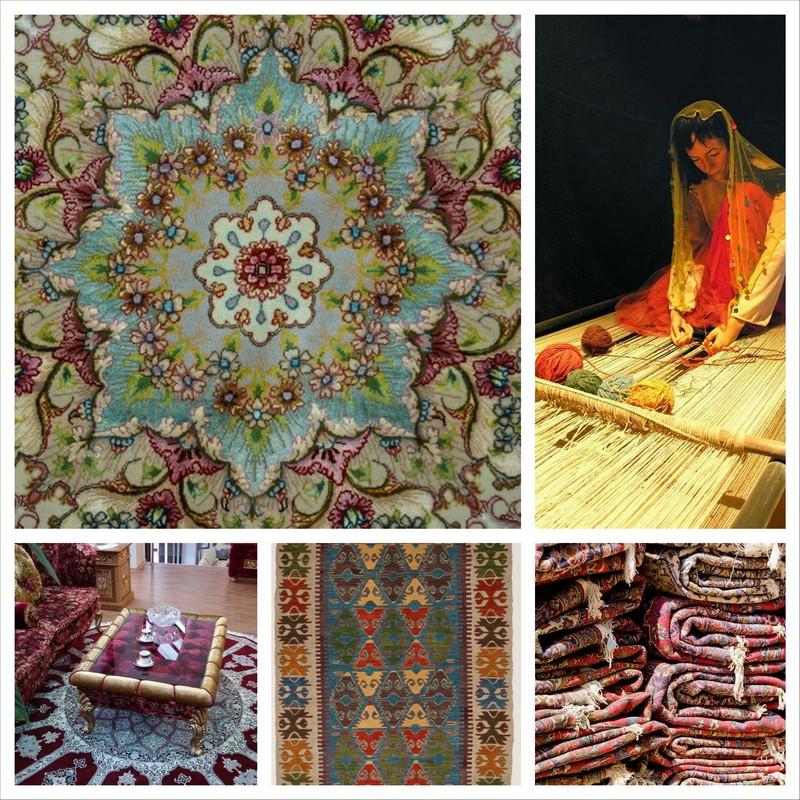 Шерстяные ковры ручной работы в интерьере