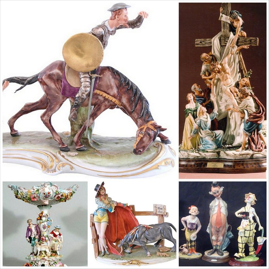 Статуэтки фарфоровые - лучший объект для коллекционирования