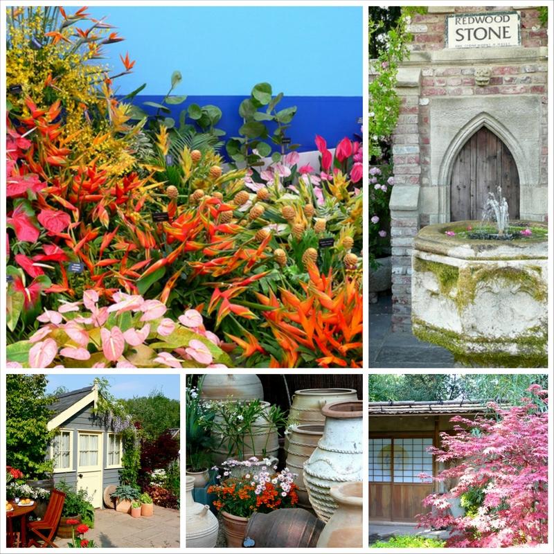 Выставка живых цветов в Челси