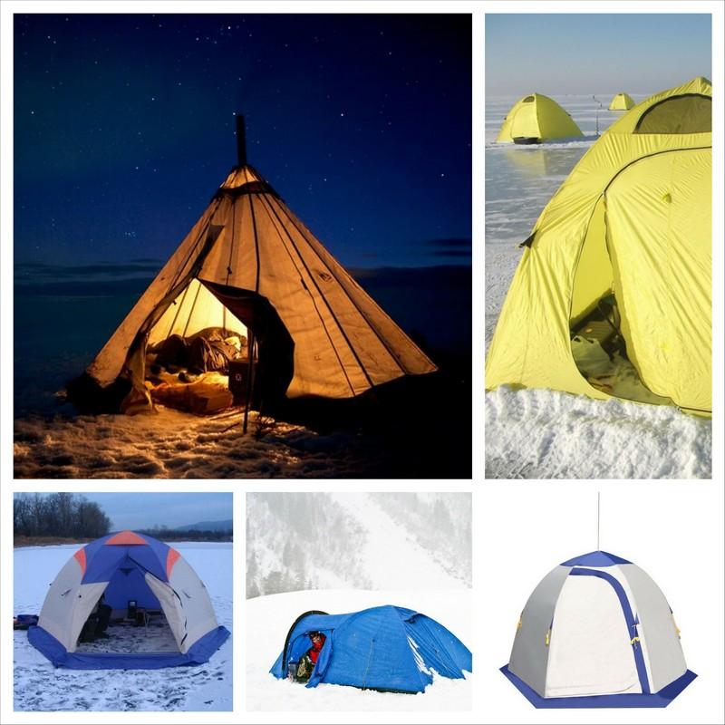 Зимняя палатка - верный помощник на пути к покорению снежных вершин