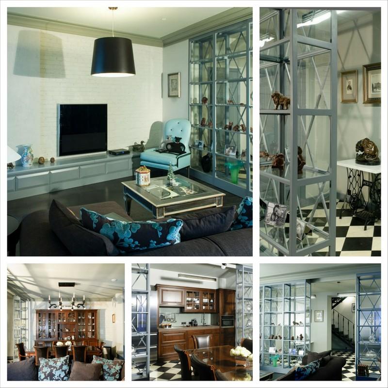 Cовременный дизайн интерьера квартир от студии Надежды Чак INTRO