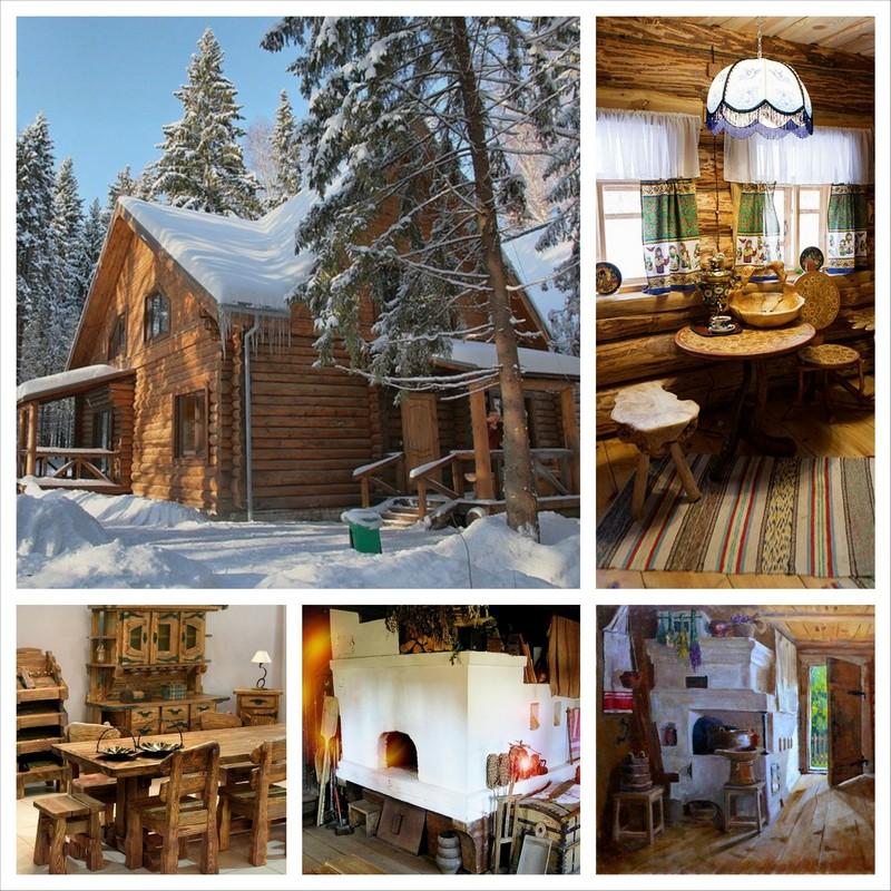 Дизайн дома в русском стиле