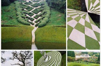 Дизайн садовых дорожек удивительного Сада космических размышлений