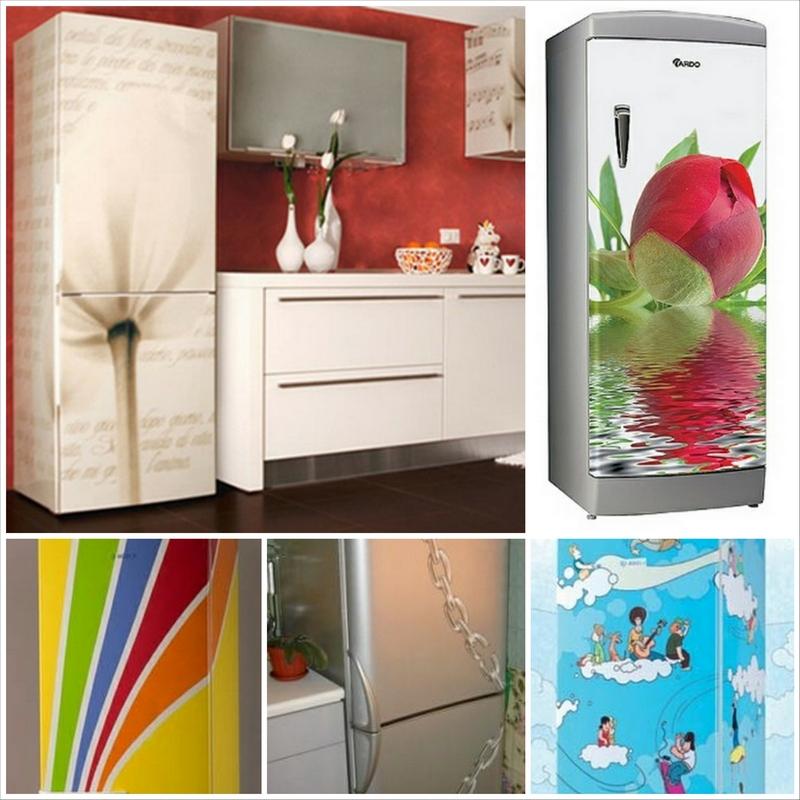 Как подобрать красивый рисунок на холодильник