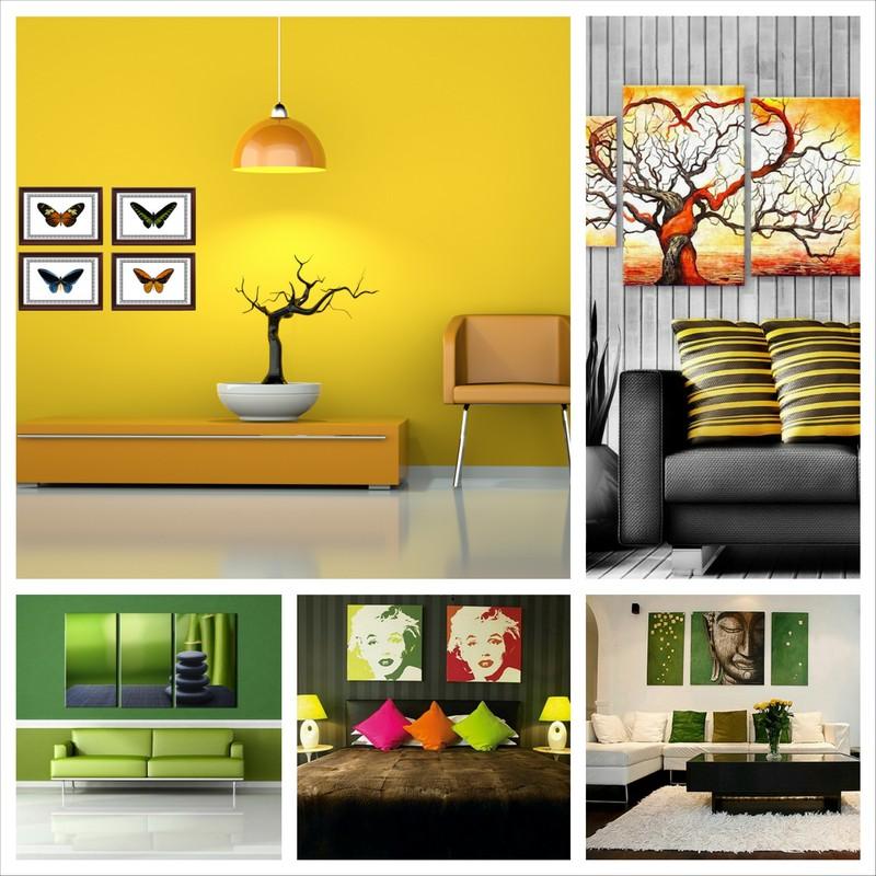 Картины для интерьера квартиры