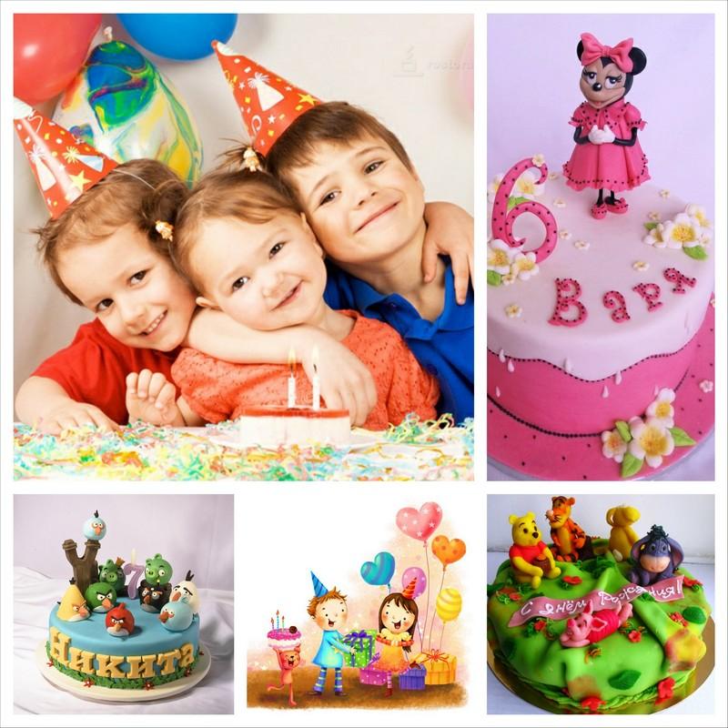 Красивые детские торты к празднику малыша 24