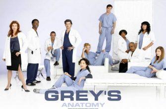 Лучший драматический сериал 2007 года - Анатомия страсти
