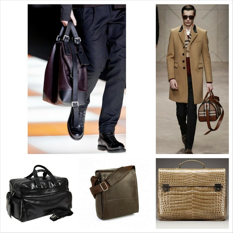 feab88860989 Мужские итальянские кожаные сумки, модный акцент или необходимый аксессуар