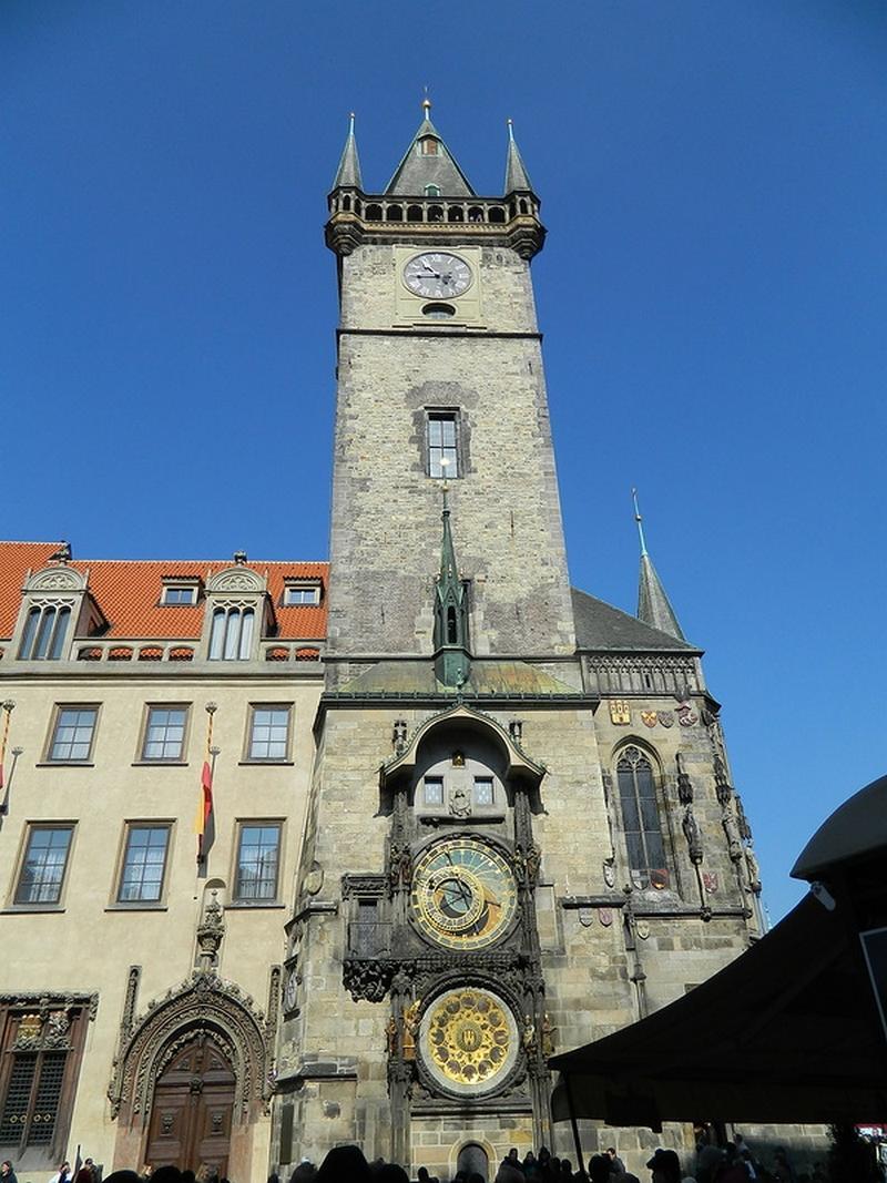Прага, фото достопримечательностей - Куранты Орлой